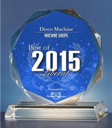 Disco Machine Receives 2015 Best of Liberal Award